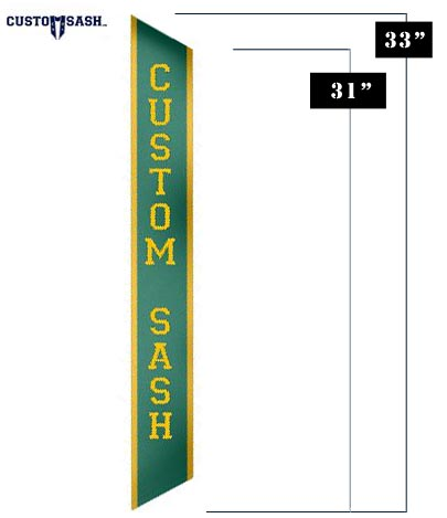 Custom Pageant Sash